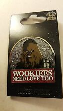 Star Wars Celebration 2017 Chewbacca Wookies Need Love Too Disney Pin LE