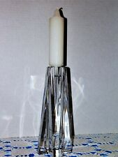 Lenox Lead Crystal Candle Holder with Cross Shape Base