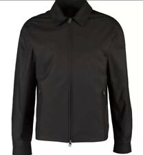 Mens Dunhill Harrington Zip Up Black Jacket Size Large With Tags Rrp £480