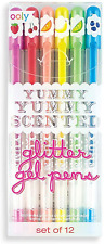 Ooly, Yummy Yummy Scented Glitter Gel Pens 132-14, Set of 12