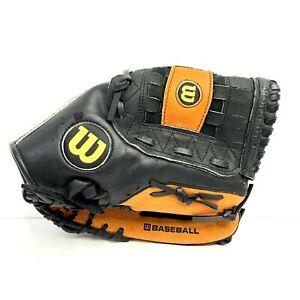 "Wilson Model A0350  ML12 Right Hand Throw 12"" Leather Baseball Glove"