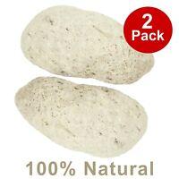 100% Natural Exfoliating Scrub Pumice Foot Stone Dead Hard Skin Callus - 2 PACK