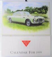 ALVIS Graham Bosworth TD21 Graber 1999 Calendar Car Automobilia Artwork