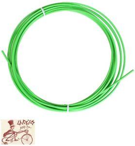 SUNLITE SIS 4mm GREEN SHIFTER DERAILLEUR CABLE HOUSING--25 FOOT ROLL