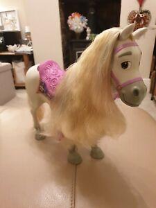 "RARE MATTEL Disney's Rapunzel 14"" Toddler Doll Horse Maximus In VGC"