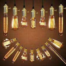 Vintage Industrial Retro Edison LED Bulb Light Lamp E27 220V  home decor 40W