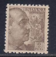 ESPAÑA (1940) NUEVO SIN FIJASELLOS MNH SPAIN - EDIFIL 932 (2 pts) FRANCO - LOTE2
