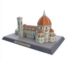 DIY Model  Florence Cathedral Italy Paper 3D Building Toy Handmade Adult Puzzle