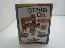 Small World Toys Ryan's Room Dream On Kids Bedroom Set Dollhouse Nrfb!