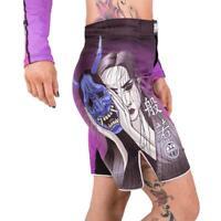 Tatami Ladies BJJ Shorts Weeping Hannya MMA Jiu Jitsu Sports Womens Gym