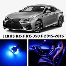 10pcs LED Blue Light Interior Package Kit for LEXUS RC-F RC-350 F
