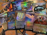MTG Double Masters VIP Showcase FOIL REPACK Mana Crypt Force of Will PLEASE READ