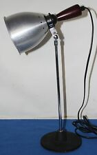 Vintage  Desk Lamp Modernist Art Deco Lamp Industrial Lamp