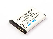 Batterie pour Pentax Optio Optio ws80/w90/p80/p70/h90/db-l80