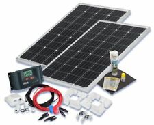 Solarset 200 Watt Komfort für Wohnmobile mit Eckprofilen