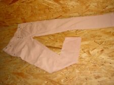 moderne Stretchjeans/Jeans v.PLEASE Gr.S  L30 lachs Knopfleiste