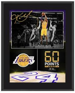 "KOBE BRYANT Los Angeles Lakers 10.5"" x 13"" 60 Point Finale Sublimated Plaque"
