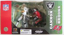 RICH GANNON & DERRICK BROOKS ~ 2003 McFarlane Double Sports Figurine