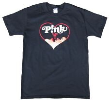 Wow offic. pink p! NK truth about Love Blow Hearts Blow Me One Last Kiss t-shirt L