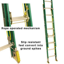 YOUNGMAN/LYTE 3.0m 2 SECTION ROPE OPERATED FIBREGLASS LADDER