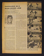 1958 Roy Campanella Brooklyn Dodgers Baseball Vintage Sport 3-Page~Article Story