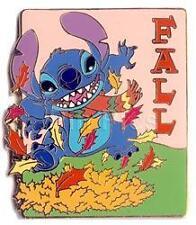 Disney Auctions Stitch Seasons Fall / Autumn LE Pin