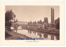 LA SUCRERIE D'EPPEVILLE  , Héliogravure  ( HAM 80 Somme)