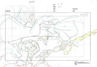 Warner Brothers-Legion of Superheroes-Original Production Drawing--Superman