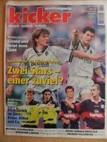 KICKER 78 - 22.9. 1997 Köln-Bayern 1:3 Schalke-HSV 2:2 Rostock-Hertha 4:0 Formel