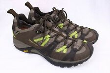 MERRELL Siren Sport 2 Gore-tex GTX XCR Dark Coffee Lime Hiking Shoes Women 7.5