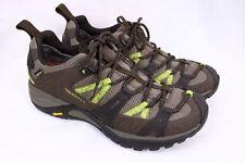 MERRELL Siren Sport 2 Gore-tex GTX XCR Dark Coffee Lime Hiking Shoes Women 7.5