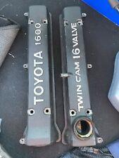 Toyota 4AGE Valve Covers
