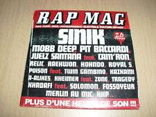 CD Compilation Rap Mag N°17 (20 titres) Sinik, Pit Baccardi,...