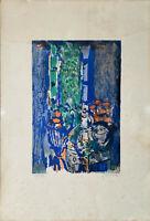 YANKELJacques 1920 - 2020 Litho originale signée et numérotée 56/100