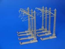MARKLIN H0 - 7009 / 7012 - 8x Catenary (Power Feeder) Mast (10) / EXC