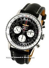 Runde Breitling Armbanduhren mit Chronograph