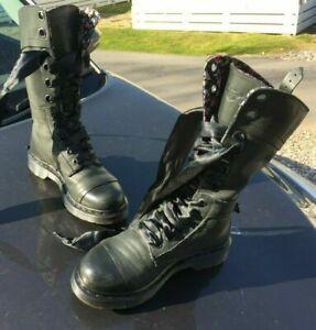 Dr Martens 1914 Triumph dark mirage nappa floral leather boots UK 5 EU 38