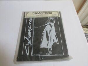 Dragonskin Vinyl Bookcover Cyberpunk 1991 New old stock