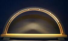 LED Schwibbogen 52cm x 26cm modern unbestückt Leerbogen Lichterbogen Erzgebirge