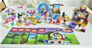 Lego Friends Bundle Lot of 5 Small Sets 41029 41089 41302 41303 41383 & Manuals
