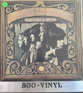 Buffalo Springfield - Last Time Around Lp Vinyl Record Atlantic K40077 EX / EX
