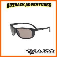 MAKO SUNGLASSES BLADE MATT BLACK FRAME PHOTOCHROMIC BROWN GLASS LENS M01-G1HX