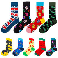 Unisex Men Women Socks Cartoon Animal Fruit Dog Socks Novelty Funny Socks 1Pair