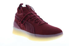 Puma Clyde Court Def Jam 19338501 Mens Red Mesh Athletic Basketball Shoes