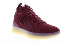 Puma Clyde Tribunal Def Jam 19338501 para hombres zapatos para baloncesto atléticas con malla roja