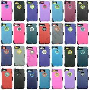 Apple iPhone 8 8+ 7 Plus 6S Plus X Case Cover {Belt Clip fits Otterbox Defender}