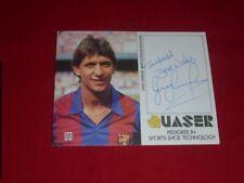 Gary lineker-firmado-Autograph-signed - UK-CF Barcelona