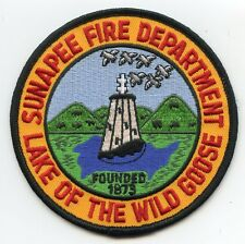 SUNAPEE NEW HAMPSHIRE NH Lake of The Wild Goose FIRE PATCH
