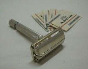 """Vintage British Gillette Rocket """"Parat"""" Safety Razor Brit. Patent 694093 II"""