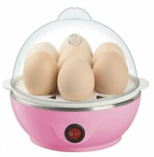 Multicolor 7 Egg Poacher for Steaming/ Boiling, Electric Automatic Off - F Ship